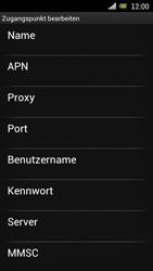 Sony Ericsson Xperia Ray mit OS 4 ICS - MMS - Manuelle Konfiguration - 9 / 17