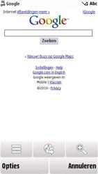 Nokia 5230 - internet - hoe te internetten - stap 7