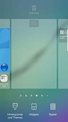 Samsung Galaxy S6 Edge - Android Nougat - Startanleitung - Installieren von Widgets und Apps auf der Startseite - Schritt 3