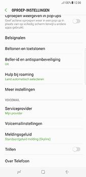 Samsung Galaxy S8 Plus (G955) - Voicemail - Handmatig instellen - Stap 6