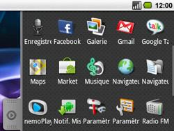 Acer BeTouch E130 - Messagerie vocale - configuration manuelle - Étape 3