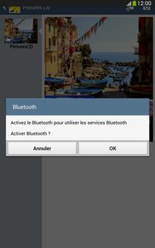 Samsung Galaxy Tab 3 8 4G - Photos, vidéos, musique - Envoyer une photo via Bluetooth - Étape 11