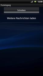 Sony Ericsson Xperia X10 - E-Mail - Konto einrichten - Schritt 4