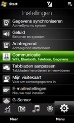 HTC T7373 Touch Pro II - netwerk en bereik - gebruik in binnen- en buitenland - stap 4