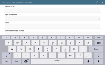 Samsung T535 Galaxy Tab 4 10.1 - E-mail - configurazione manuale - Fase 9
