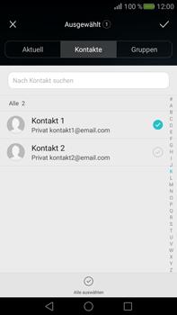Huawei Mate S - E-Mail - E-Mail versenden - Schritt 7