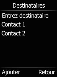 Doro 6520 - E-mails - Envoyer un e-mail - Étape 18