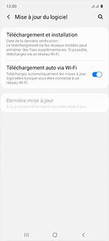 Samsung Galaxy A51 - Logiciels - Installation de mises à jour - Étape 5