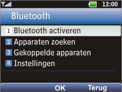 LG C360 Golf - bluetooth - aanzetten - stap 5