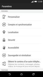 HTC Desire 816 - Sécuriser votre mobile - Personnaliser le code PIN de votre carte SIM - Étape 4