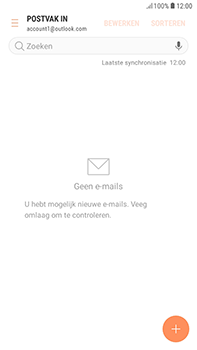 Samsung Galaxy J4 - E-mail - handmatig instellen (outlook) - Stap 6