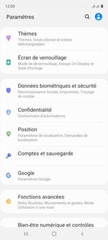 Samsung Galaxy A51 - Sécuriser votre mobile - Personnaliser le code PIN de votre carte SIM - Étape 4