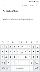Samsung Galaxy Xcover 4 - E-mail - Sending emails - Step 11