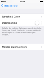 Apple iPhone 5s iOS 10 - Internet und Datenroaming - Manuelle Konfiguration - Schritt 9