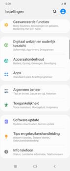 Samsung Galaxy Z Flip - apps - apps afsluiten - stap 4