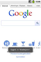 Alcatel OT-991 Smart - internet - hoe te internetten - stap 6