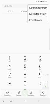 Samsung Galaxy S8 Plus - Android Oreo - Anrufe - Rufumleitungen setzen und löschen - Schritt 5