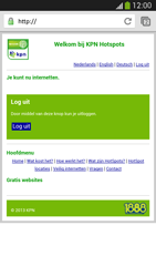 Samsung I9300 Galaxy S III - WiFi - KPN Hotspots configureren - Stap 19