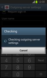 Samsung I8730 Galaxy Express - E-mail - Manual configuration - Step 15
