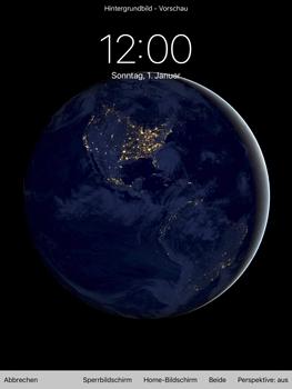 Apple iPad Pro 9.7 inch - iOS 11 - Hintergrund - 7 / 8