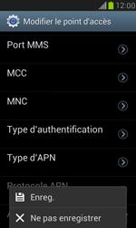 Samsung Galaxy S III Mini - MMS - Configuration manuelle - Étape 14