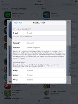 Apple iPad Mini 4 - Apps - Konto anlegen und einrichten - 22 / 35