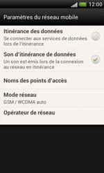 HTC Desire X - Réseau - Sélection manuelle du réseau - Étape 6