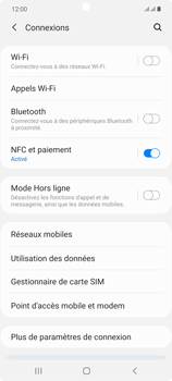 Samsung Galaxy Note20 - Internet et connexion - Partager votre connexion en Wi-Fi - Étape 5