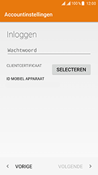 ZTE Blade V8 - E-mail - e-mail instellen (outlook) - Stap 8