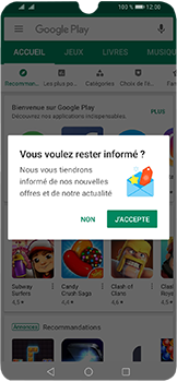 Huawei Y6 (2019) - Applications - Télécharger une application - Étape 3