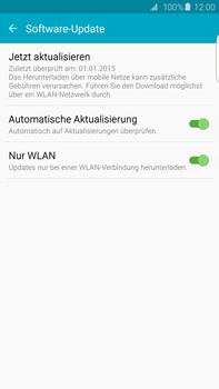 Samsung Galaxy S6 edge+ (G928F) - Software - Installieren von Software-Updates - Schritt 7