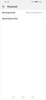 Huawei Y6 (2019) - Voicemail - handmatig instellen - Stap 8