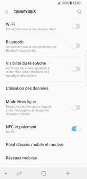 Samsung Galaxy S8 - Android Oreo - Internet et roaming de données - Désactivation du roaming de données - Étape 5