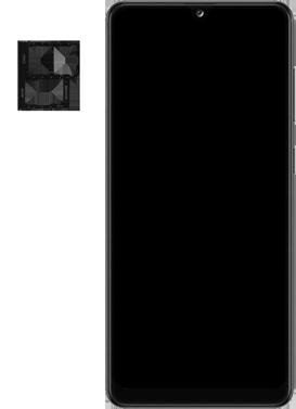 Samsung Galaxy A31 - Premiers pas - Insérer la carte SIM - Étape 3
