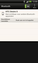 HTC T328e Desire X - bluetooth - aanzetten - stap 6