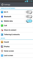 LG D505 Optimus F6 - Internet - Manual configuration - Step 4