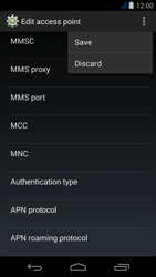Acer Liquid Jade - MMS - Manual configuration - Step 16