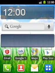 Samsung Galaxy Pocket - Operazioni iniziali - Installazione di widget e applicazioni nella schermata iniziale - Fase 5