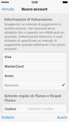 Apple iPhone 5s - Applicazioni - Configurazione del negozio applicazioni - Fase 19