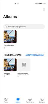 Huawei P40 - Photos, vidéos, musique - Envoyer une photo via Bluetooth - Étape 5