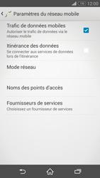 Sony Xperia Z3 Compact - Réseau - Sélection manuelle du réseau - Étape 6