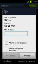 Samsung Galaxy S II - WiFi - Configuration du WiFi - Étape 6