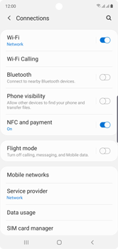 Samsung Galaxy Note 10 - WiFi - Enable WiFi Calling - Step 6