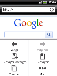 HTC A3333 Wildfire - Internet - internetten - Stap 5