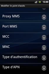 Sony Ericsson Xperia Mini Pro - Internet - configuration manuelle - Étape 10