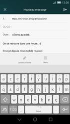 Huawei Ascend G7 - E-mail - envoyer un e-mail - Étape 9