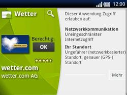 Sony Ericsson Xperia X10 Mini Pro - Apps - Herunterladen - Schritt 14