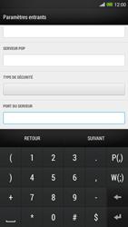 HTC One Max - E-mail - configuration manuelle - Étape 11