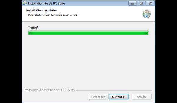 LG G3 - Logiciels - Installation du logiciel de synchronisation PC - Étape 9