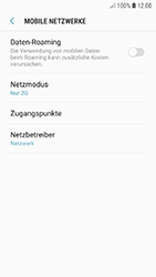 Samsung Galaxy A5 (2017) - Android Oreo - Netzwerk - Netzwerkeinstellungen ändern - Schritt 8